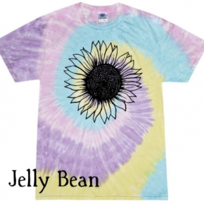 Sunflower Tie-Dye T-shirt