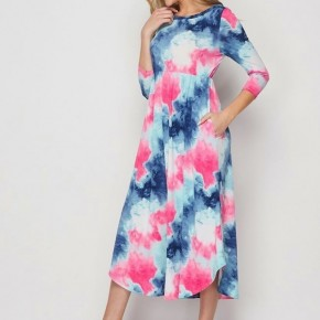 Honey Me Tie Dye Dress *Final Sale*