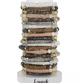 Erimish Glitter Accent bracelets