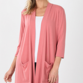 Zenana Lightweight Cardigan