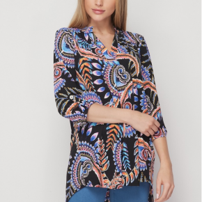 Honey Me - Gabby Paisley Pattern Tunic