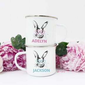 Bunny Mugs - Personalized