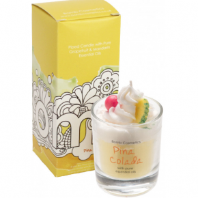 Bomb Cosmetics - Piña Colada Piped Glass Candle