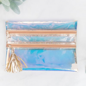 Rainbow Holographic Clear Versi bag