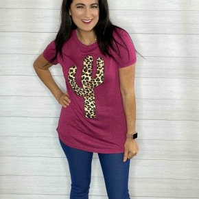 Leopard Cactus Top