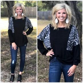 Cassidy Cheetah Print Top