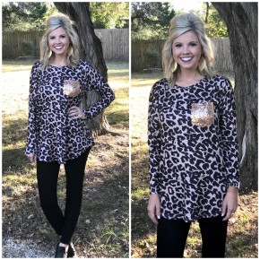 Sequins and Spots Top