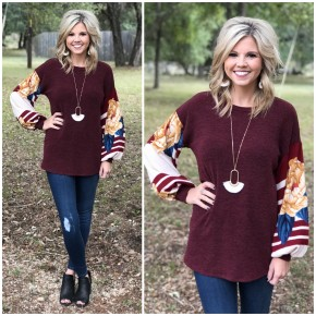 Melissa Bishop Sleeve Top