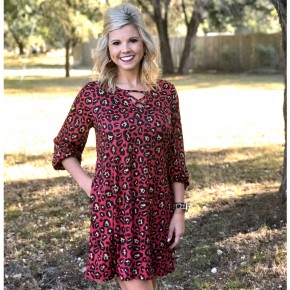 Wild Side Cheetah Dress