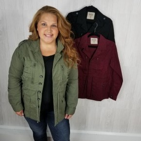 SALE Military Style Jacket
