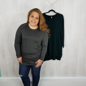 Tunic Pullover Sweater