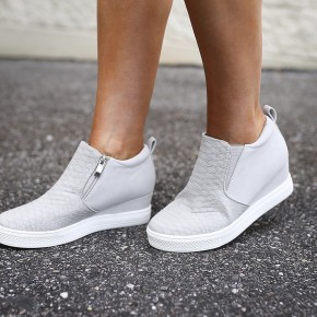 Spring Fever Wedge Sneakers