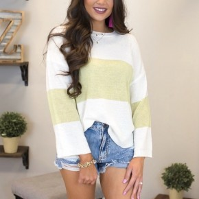 Stripes In The Summertime Sweater