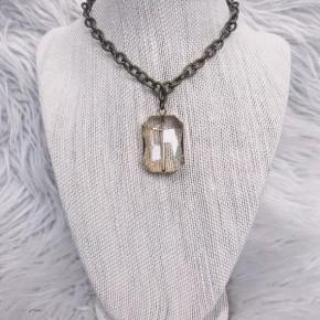 Sparkle Shine Raw & Rebellious Necklace