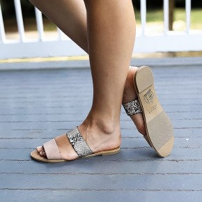 Smooth Strutting Sandals