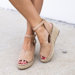 Ready For Rome Wedges