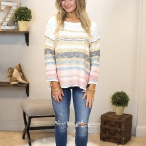Striped Ways Sweater