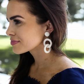Taking Sides Earrings