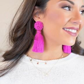 Sippin' In Style Earrings