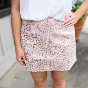 Pretty Little Leopard Skirt