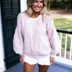 Blushing Autumn Sweater