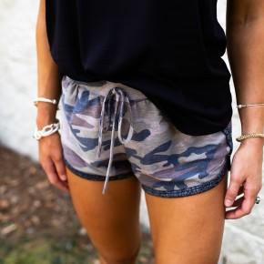 Comfy Camo Shorts