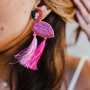 Flamingo Babe Earrings