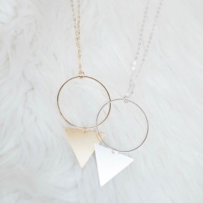 Three Point Necklace