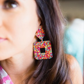 Face The Day Earrings