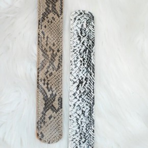 Snakeskin Slap Bracelet