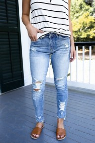 Downtown Denim Jeans