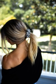 Lovely Leopard Scrunchie