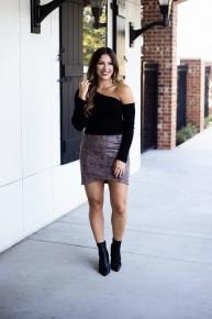 Soon Enough Skirt