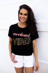 Weekend Vibes Top