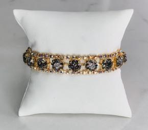 Victoria Lynn 8mm Single Row Wrap Bracelet