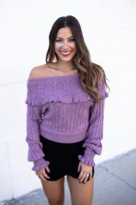 Daytime Romance Sweater