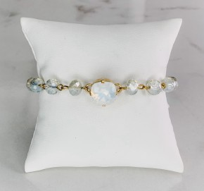 Victoria Lynn Chain Bracelet - Goldtone