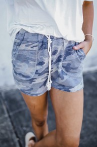 Came For The Camo Shorts