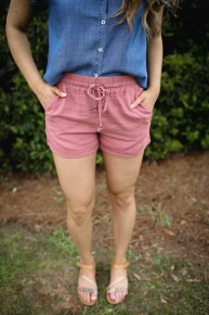 Laid Back Linen Shorts