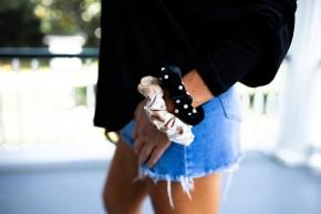 Sweet Pearl Scrunchie
