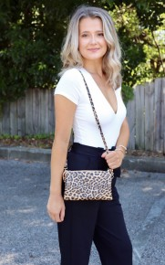 Leopard Forever Purse