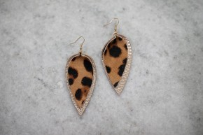 Take Your Chances Cheetah Earrings
