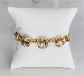 Victoria Lynn Savanah 3 Stone Bracelet