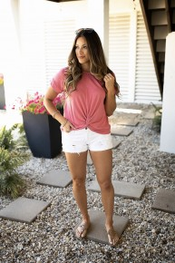 Style Reset Top- Desert Rose- Deal Of The Day