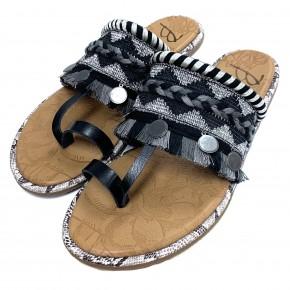 Blowfish Black Raelynn Sandals