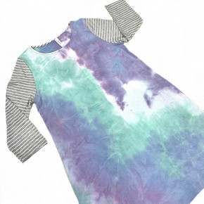 The Wait Is Over TieDye Dress