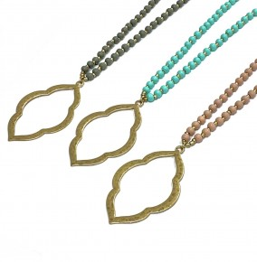 Moroccan Pendant Necklace