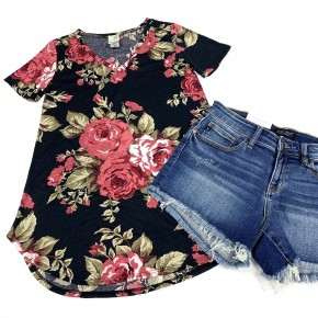 All I Ever Wanted Floral Top