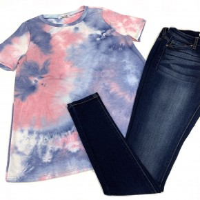 Lost In The Sky TieDye Top