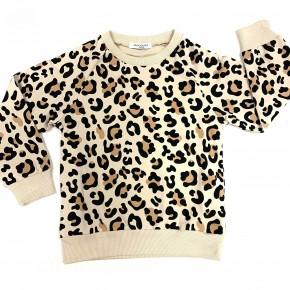 Kids Wild Like Mama Leopard Top